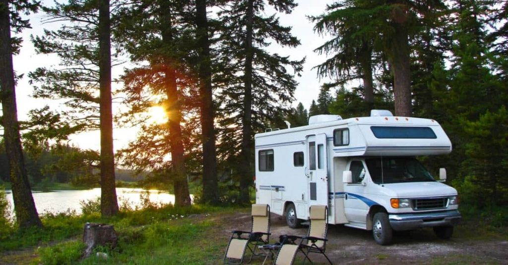 rv camping site