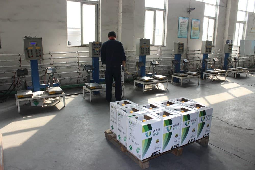 RV AC refrigerant