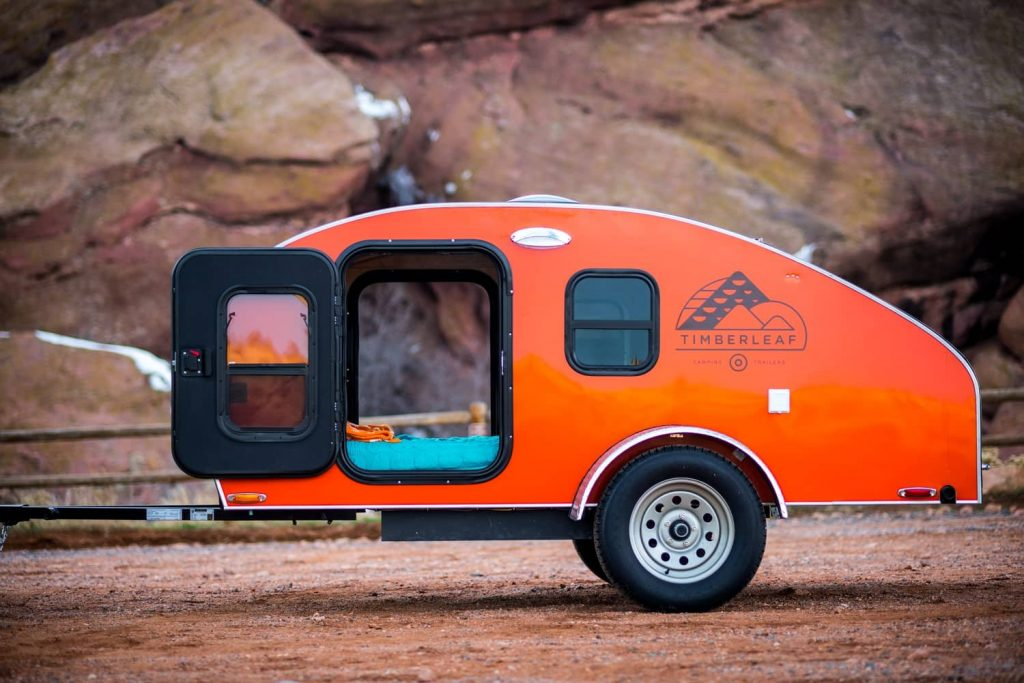 ultra-lightweight travel trailers under 2,000 pounds