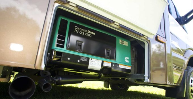 how to charge RV battery with generator