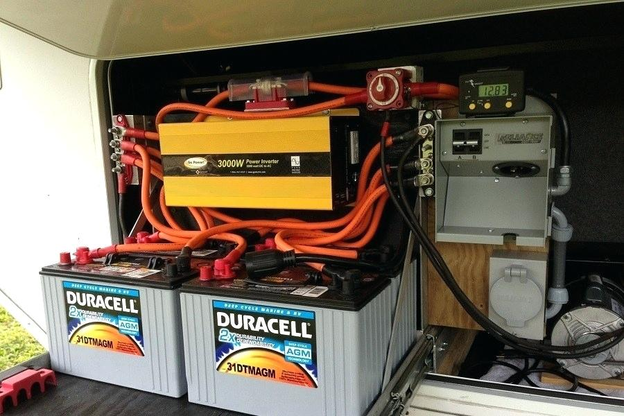 charging RV battery with generator