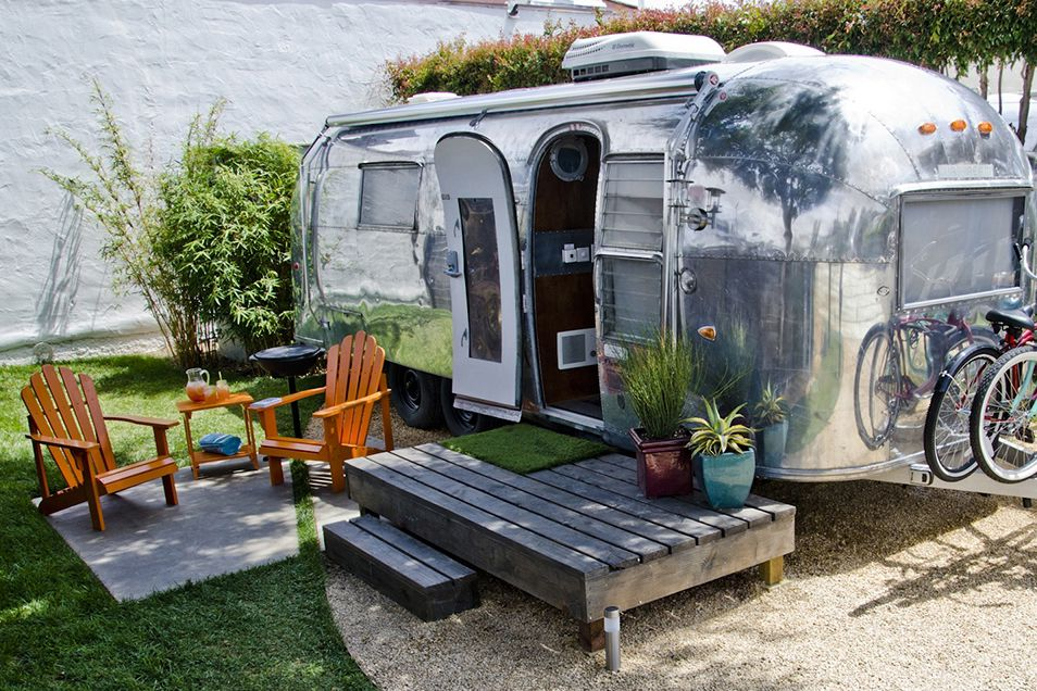 live in a camper on your own land