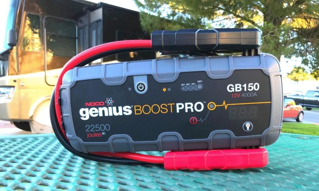 RV must haves jump starter