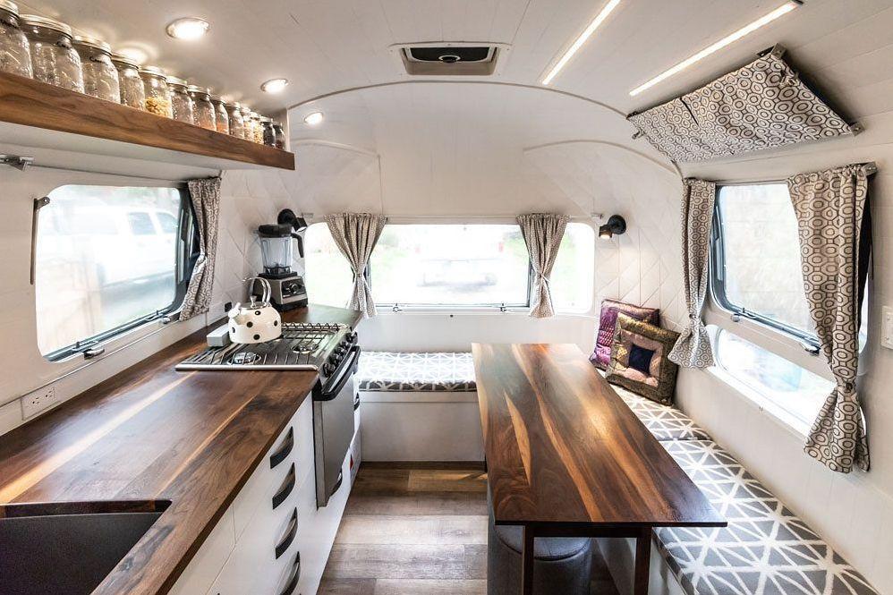 class b motorhome converted van