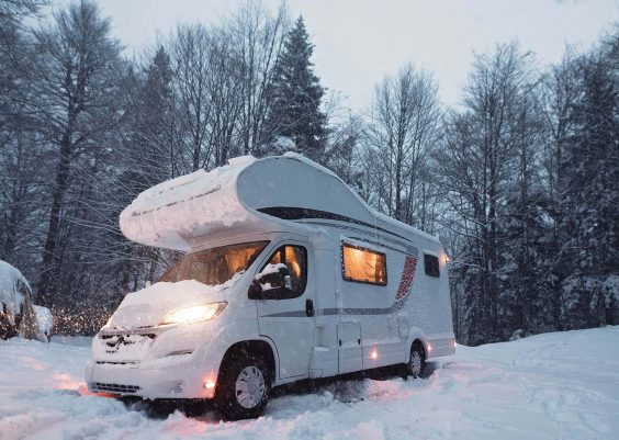 how to heat an rv without electricity