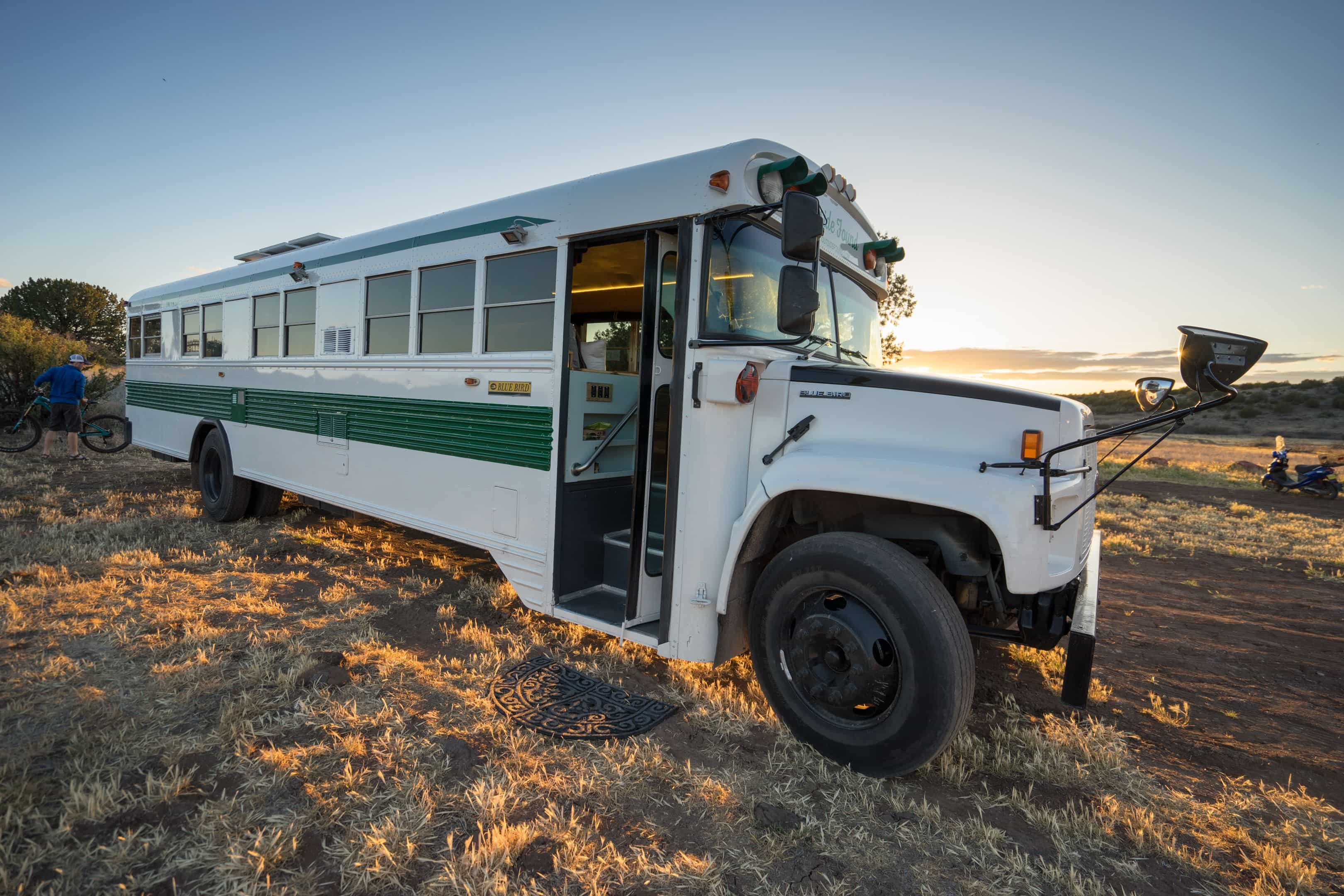 how to register a bus as an RV