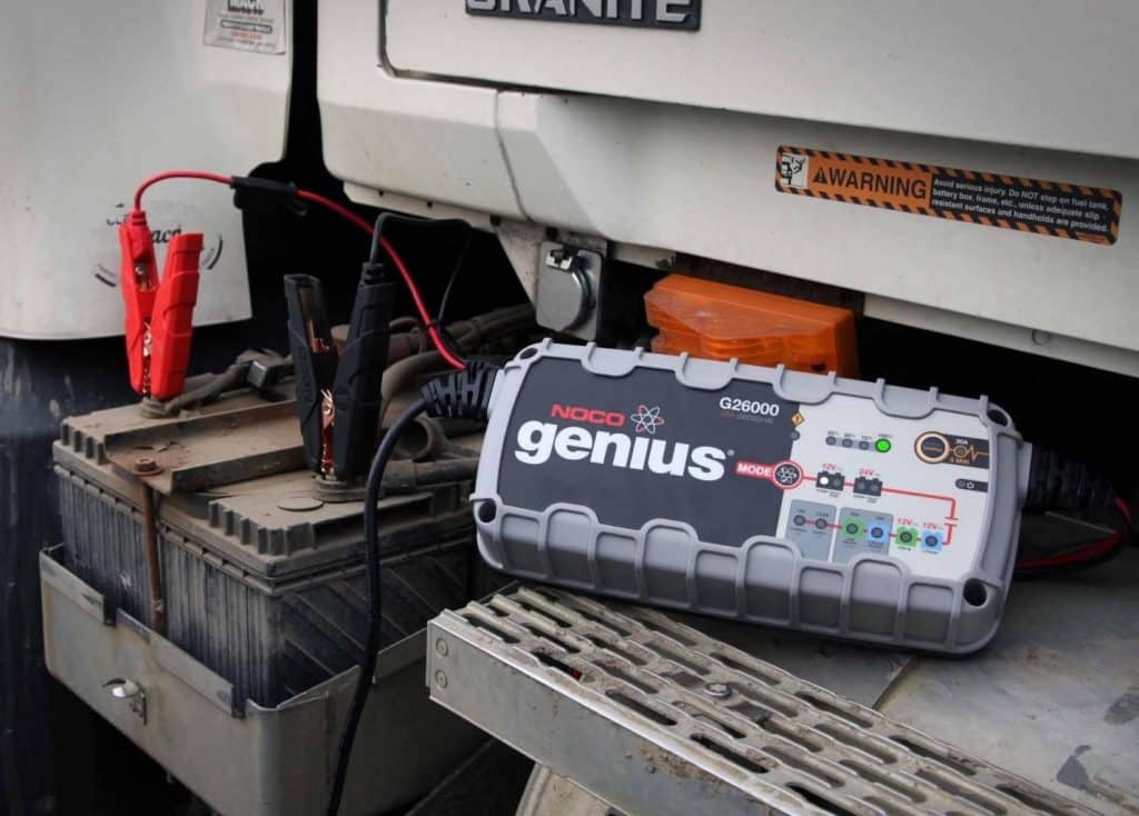 camper must haves battery charger