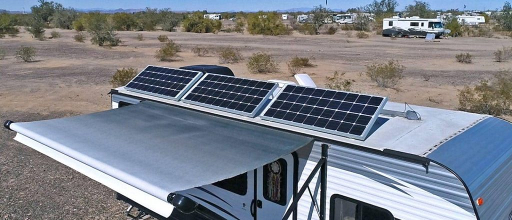rv camper solar panels