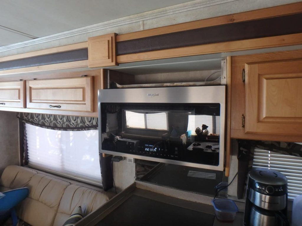 best convection microwave for RV