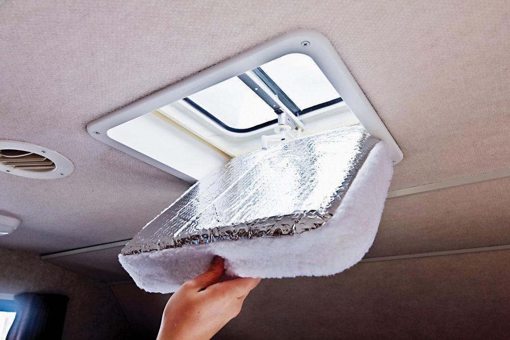 RV hatch vent insulator