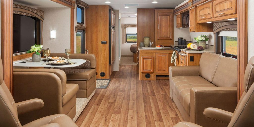 large RV interior