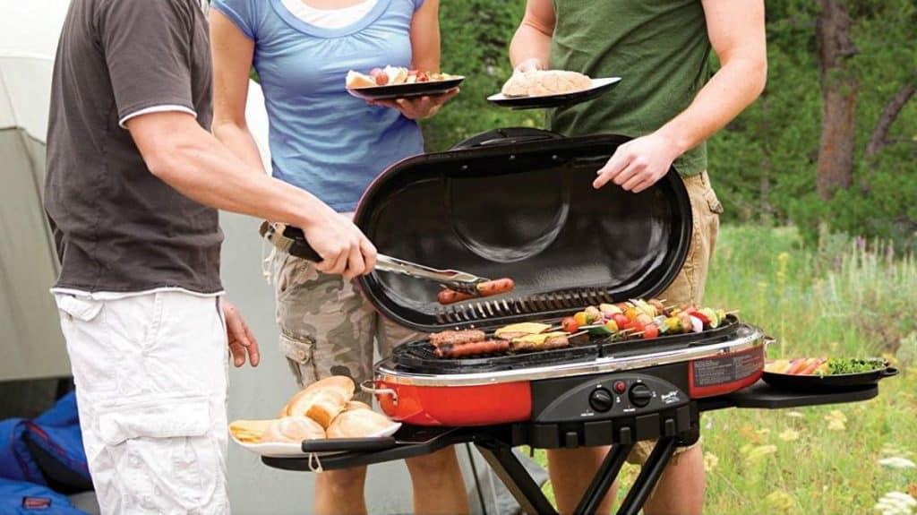RV portable grill