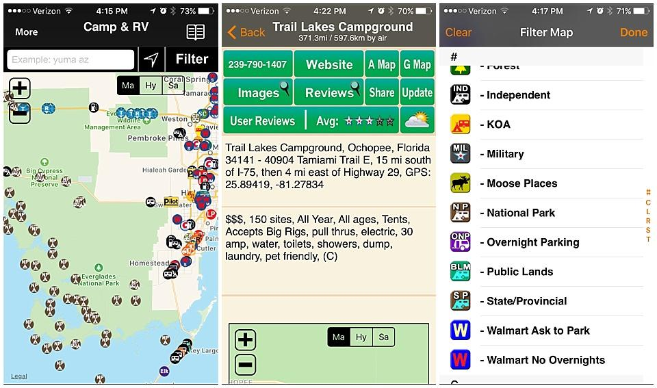 all-in-one rv app