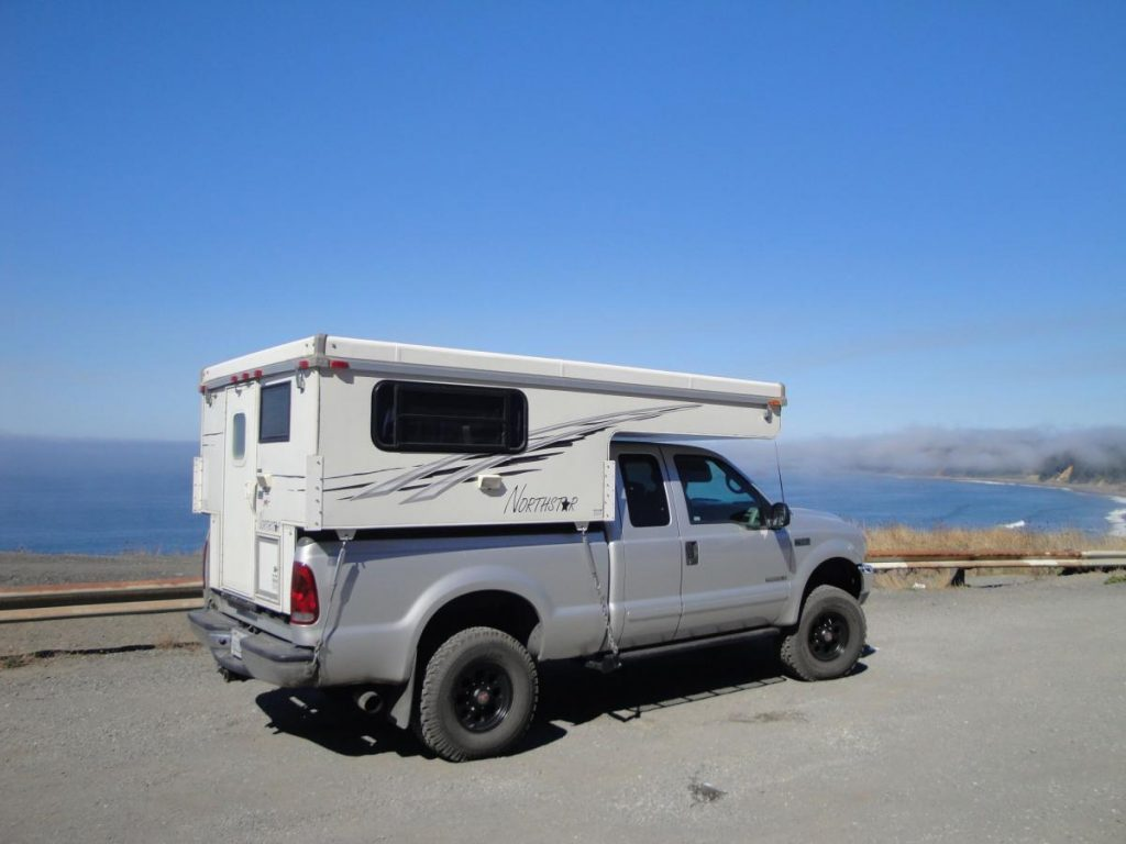 Northstar 650 pop up truck camper