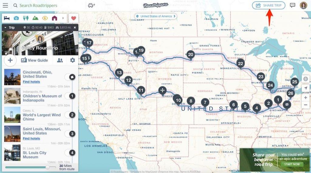 free RV trip planner apps