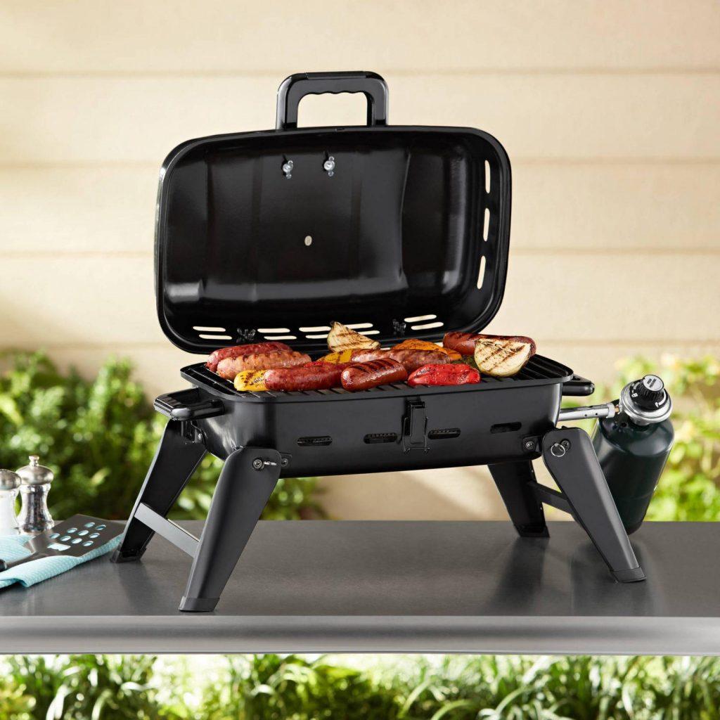 portable propane grill camping