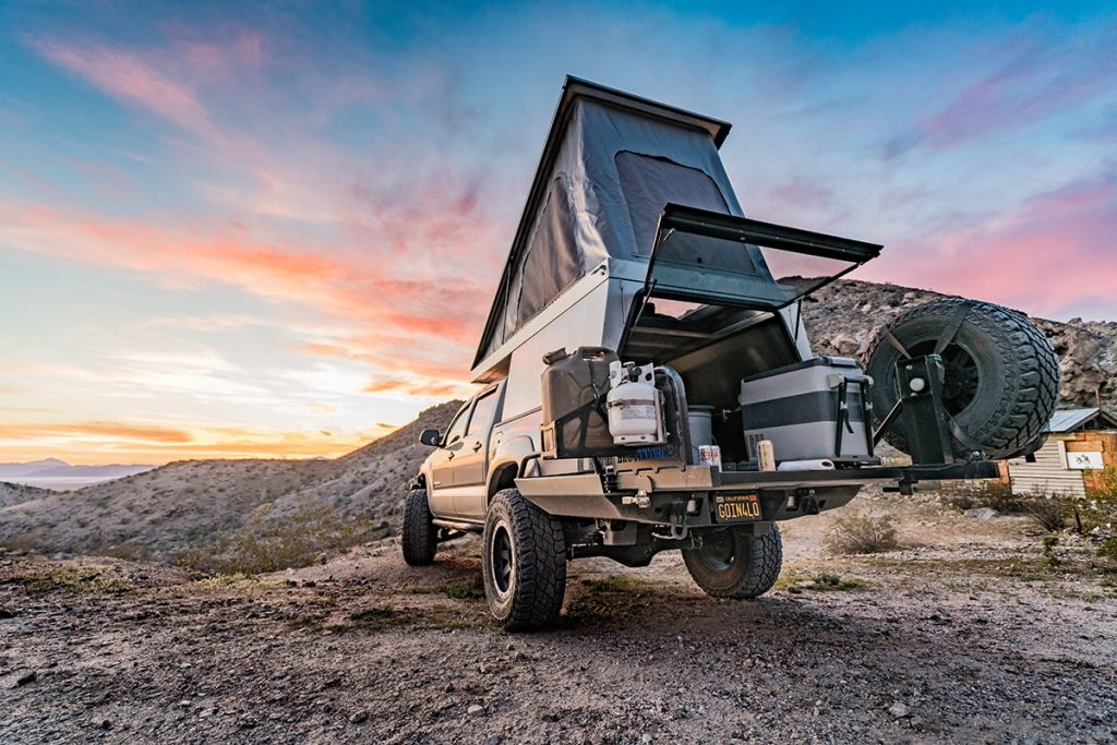 pickup truck pop up campers