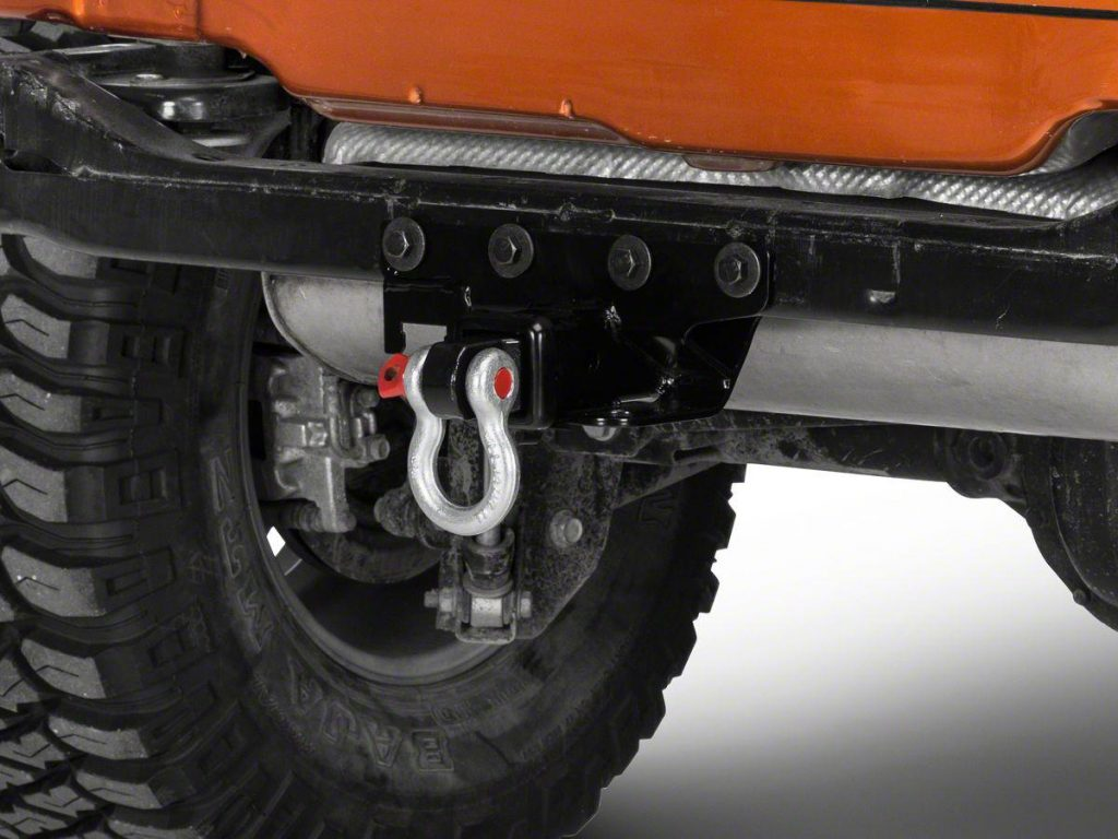 receiver hitch D-ring mount
