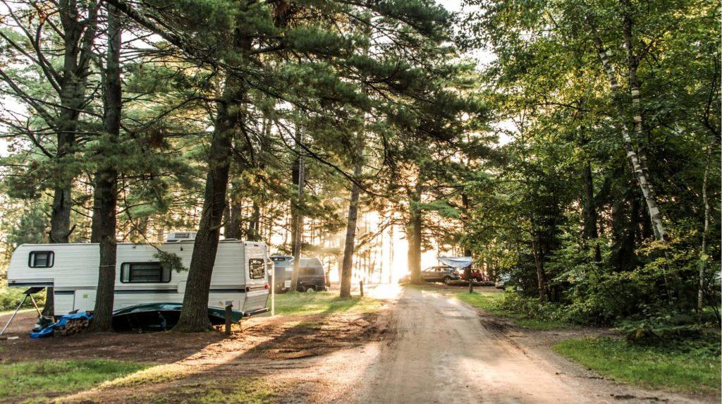 RV app campground park