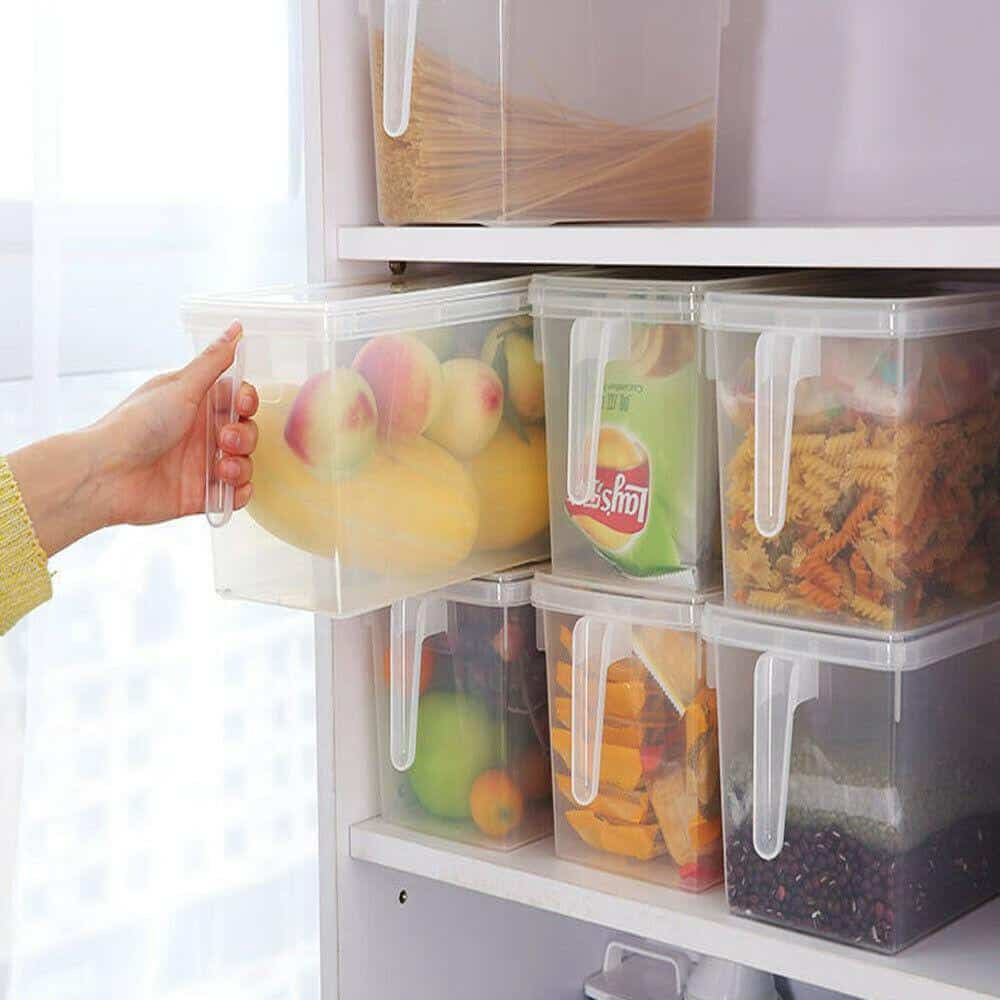 RV fridge organizer
