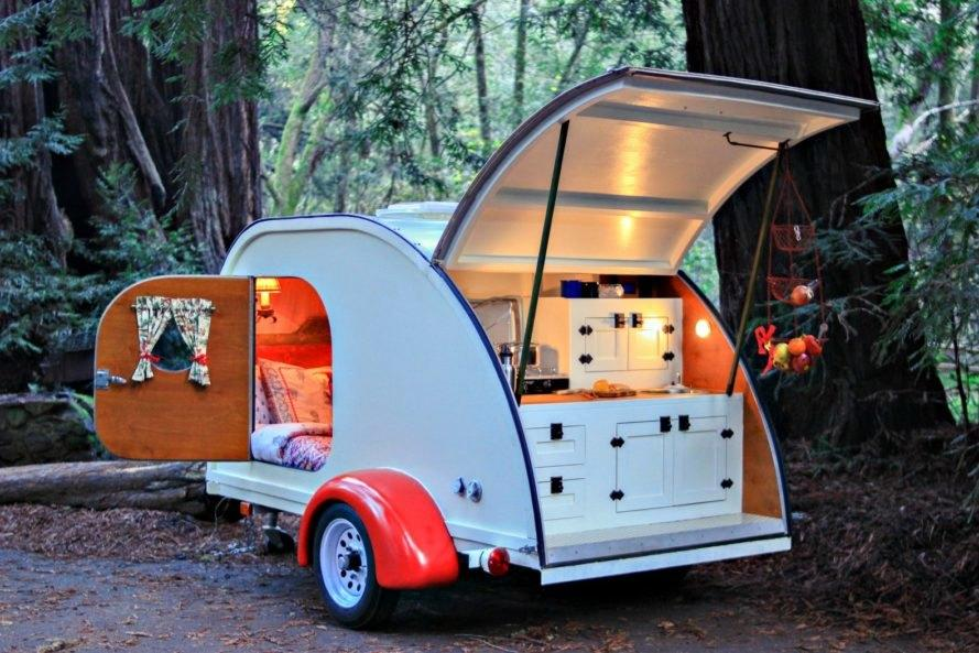 stowed storage for RV