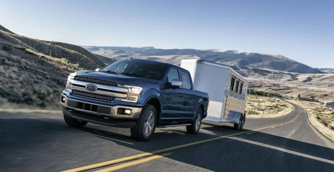 what size travel trailer can a f150 pull
