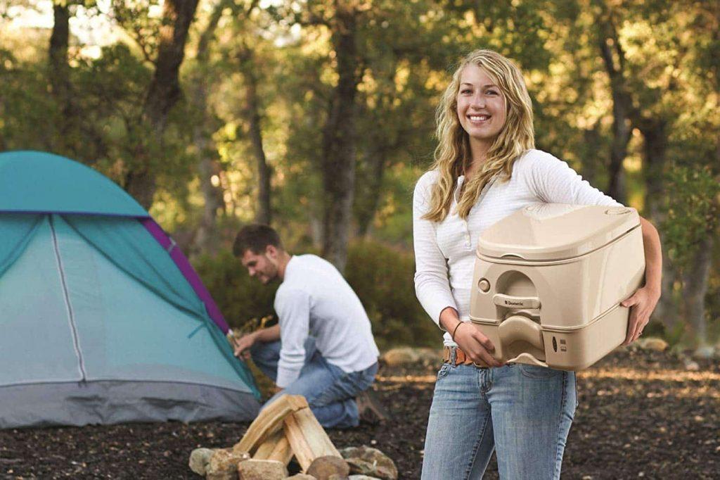 rv camping toilet