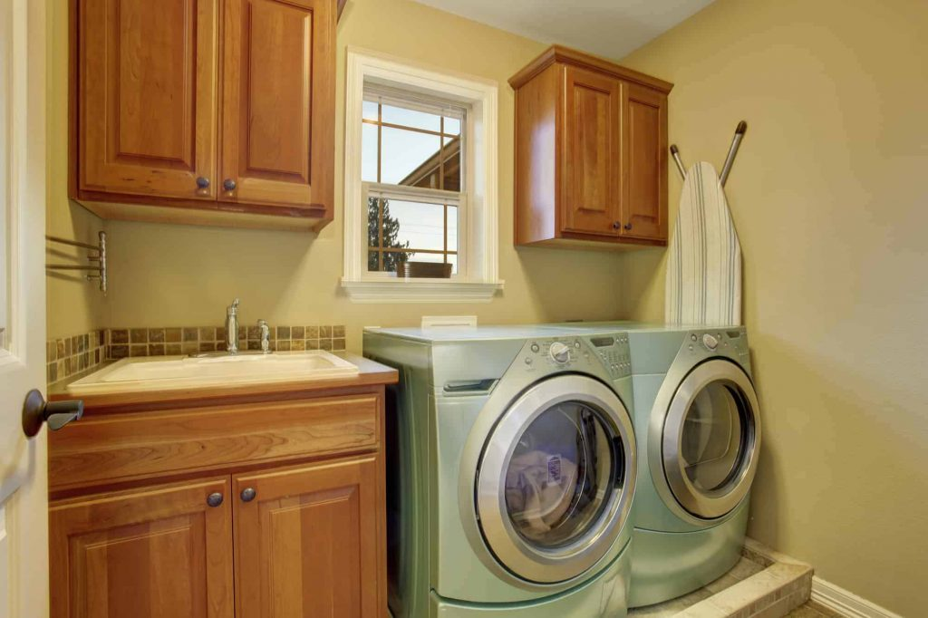 RV stackable washer and dryer