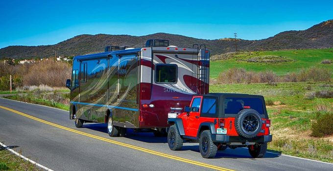 best cars to tow behind RV