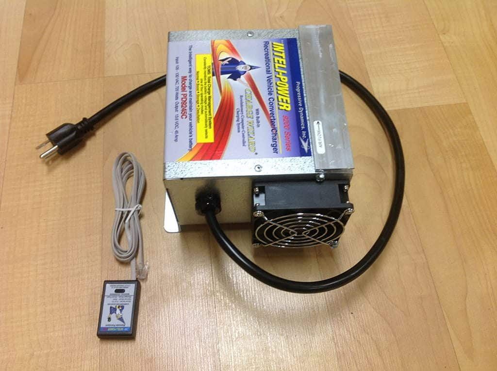 rv power converter charger