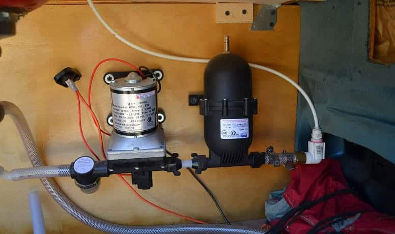 how to prime an RV water pump