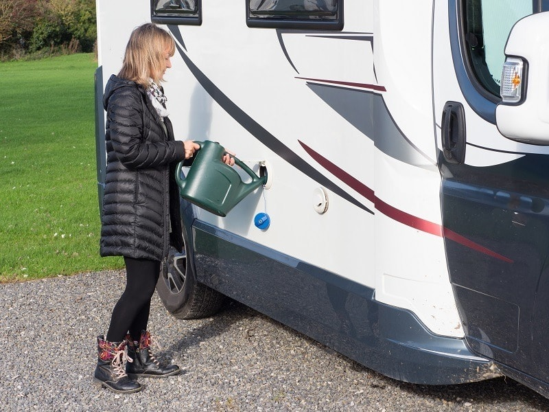 how to keep rv water fresh