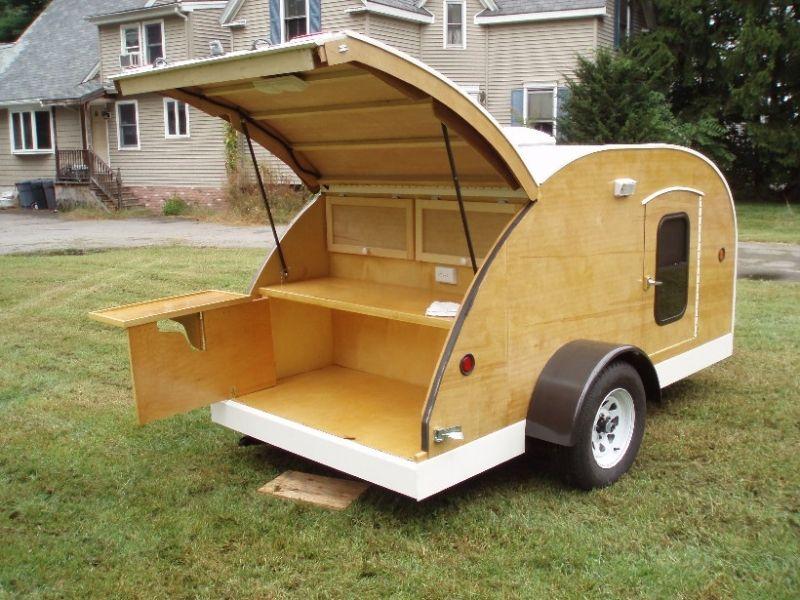 building a teardrop trailer cost