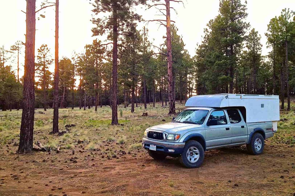 diy lightweight truck camper