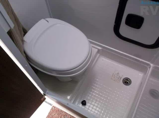 truck camper bathroom