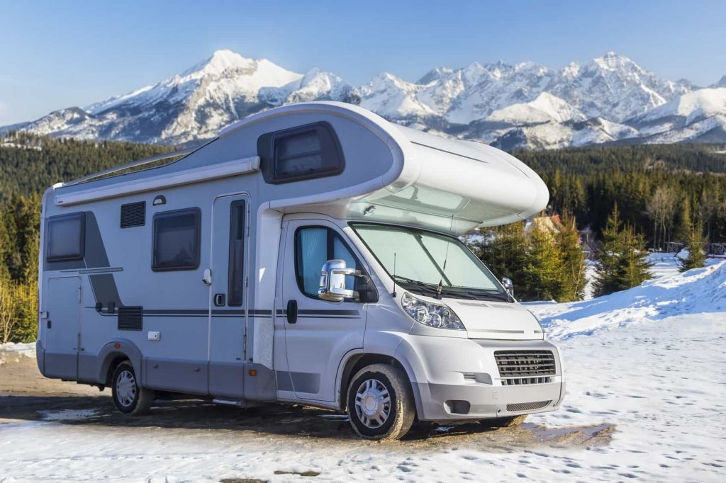 extreme cold weather rvs