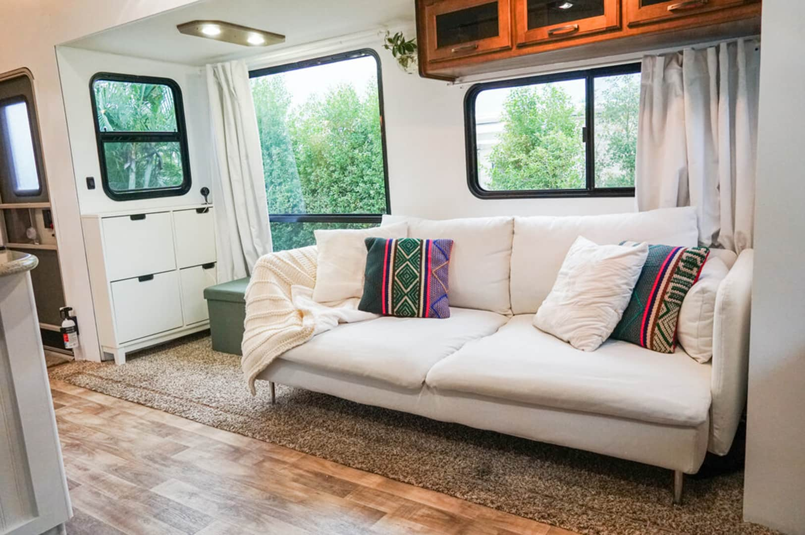 what are RV interior walls made of