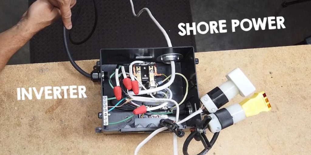 how to install a power inverter in a camper