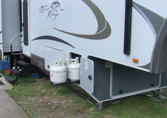 RV propane not flowing