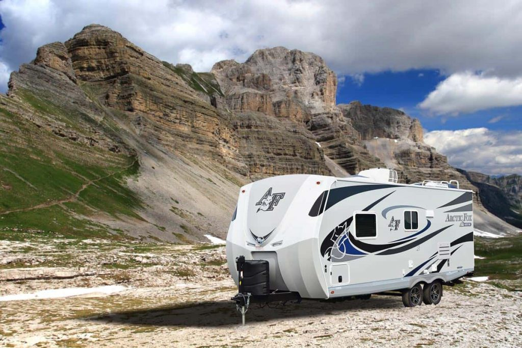 extreme cold weather RV