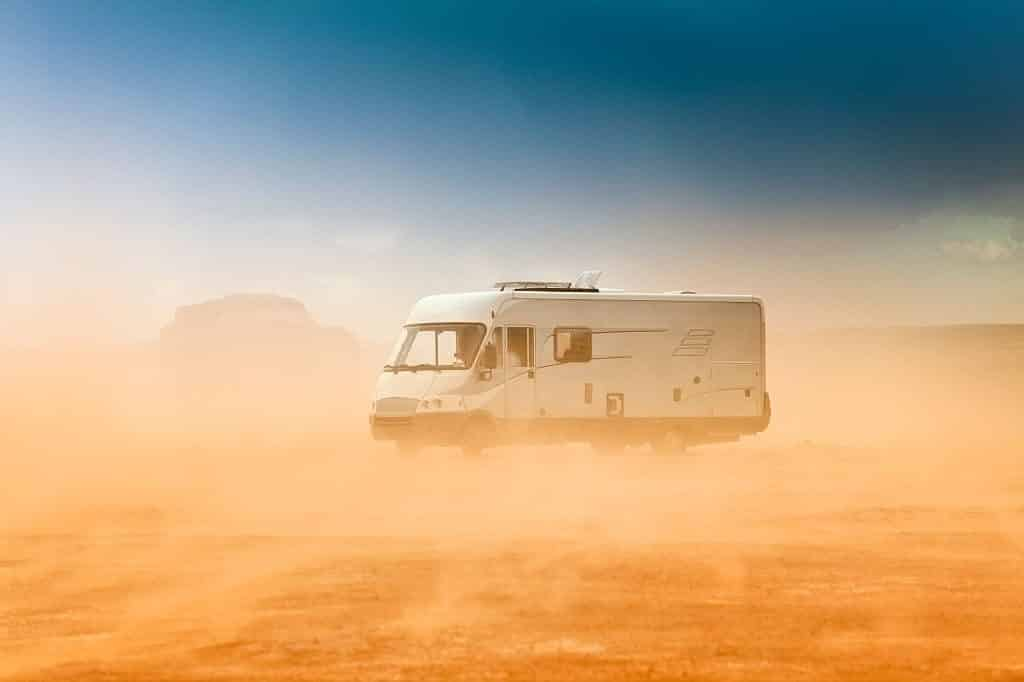 driving rv in windy conditions