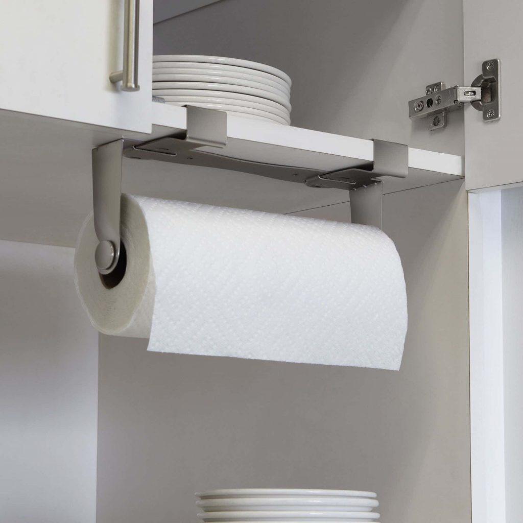 RV kitchen roll hangers