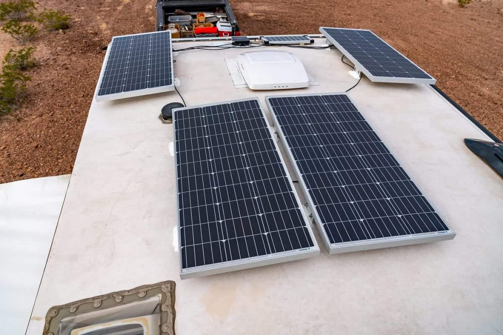 solar panels for rv cost
