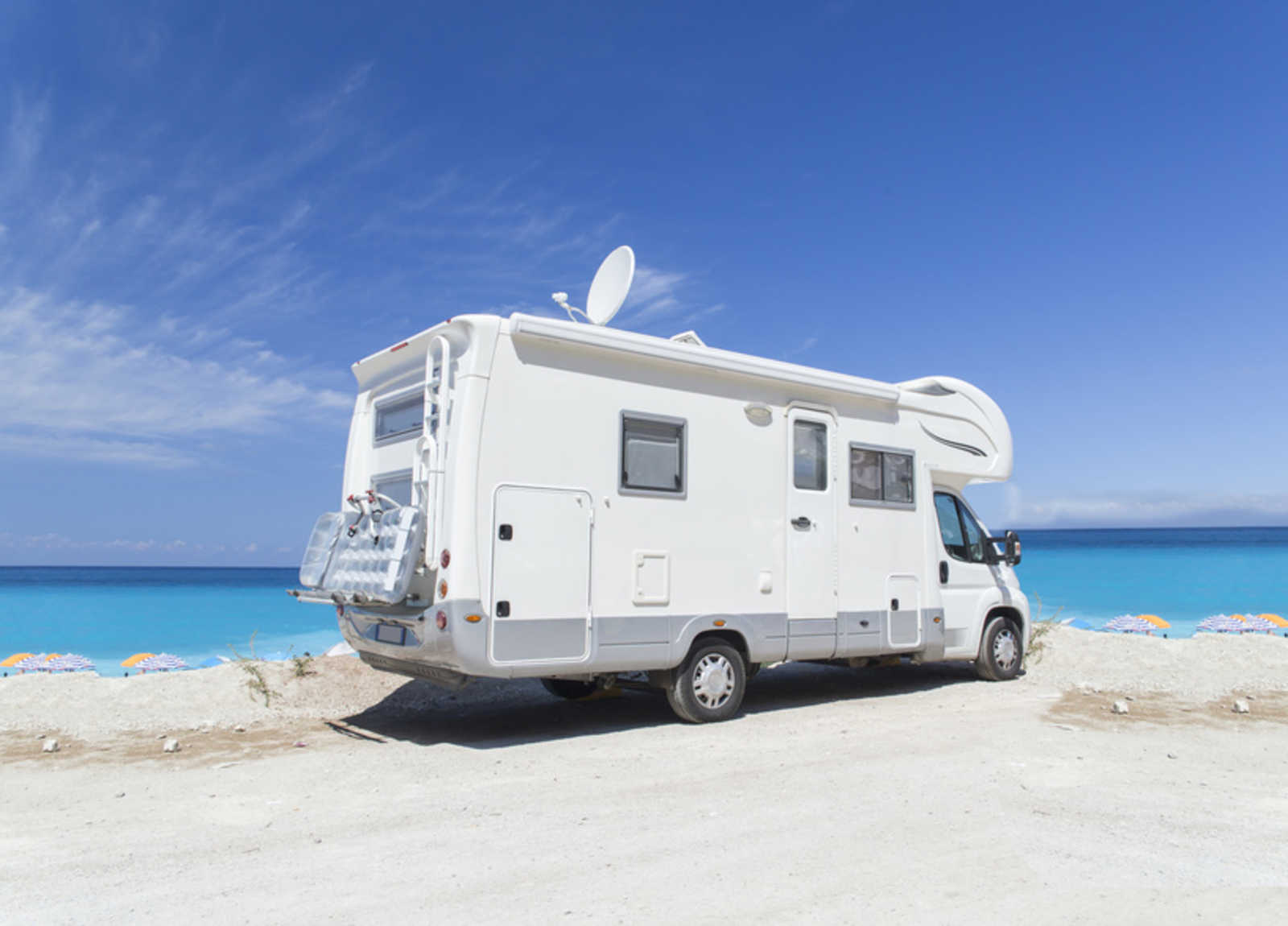 how to hook up TV to RV antenna
