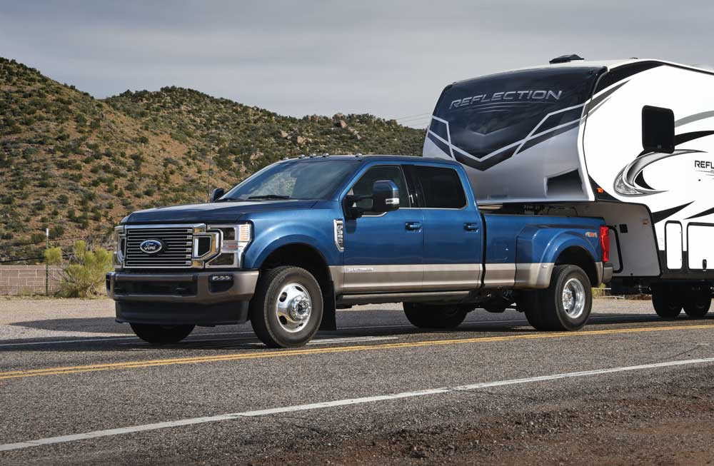 truck for towing 5th wheel