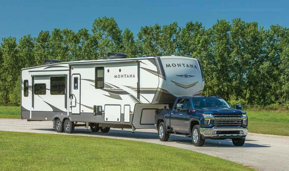 Fifth Wheels RVs