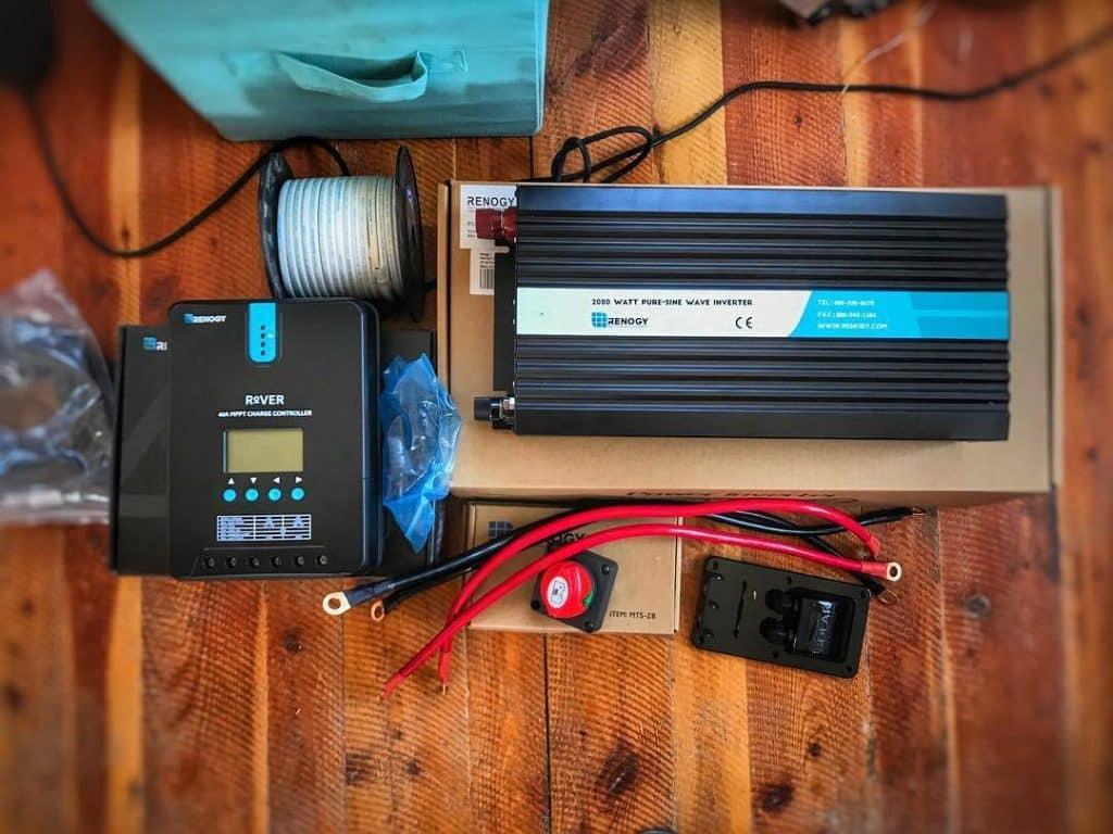 travel trailer power converter