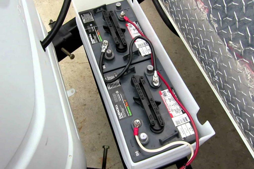 camper battery box