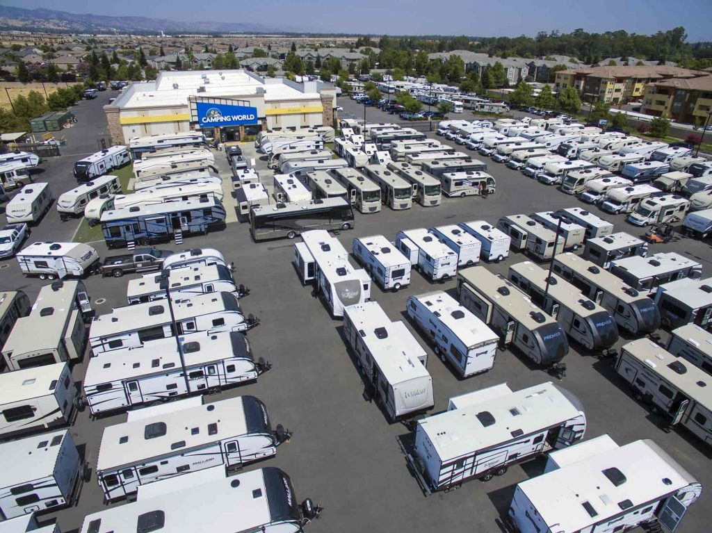 RV parking Camping World