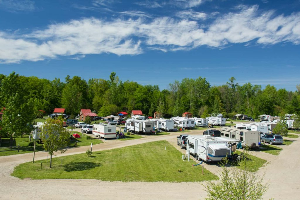 free RV campgrounds